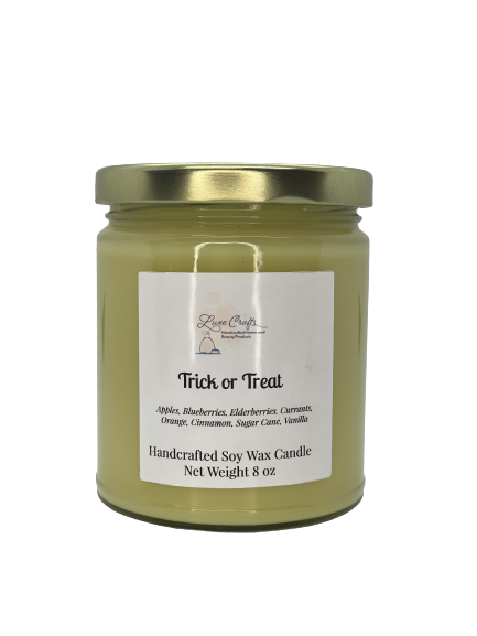 Trick or Treat Soy Wax Candle