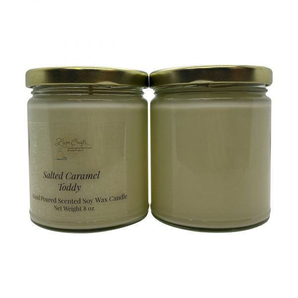 Salted Caramel Toddy Soy Wax Candle
