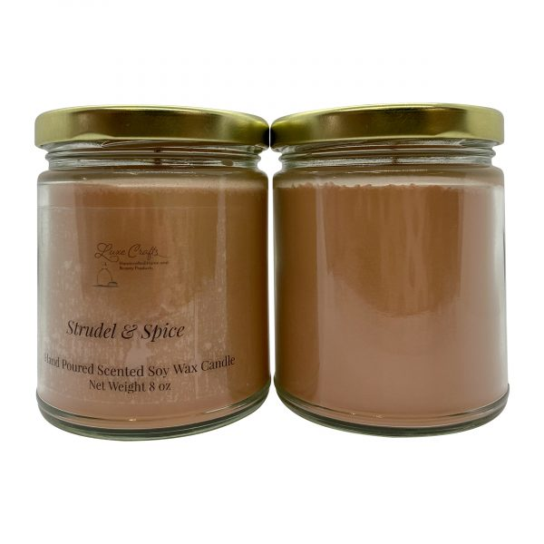 Strudel and Spice Soy Wax Candle