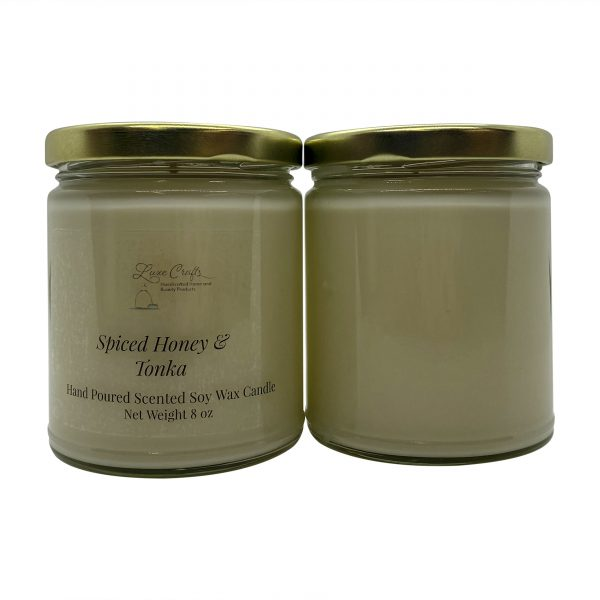 Spiced Honey and Tonka Soy Wax Candle