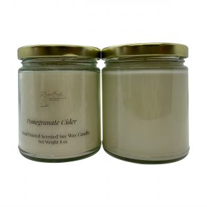 Pomegranate Cider Soy Wax Candle