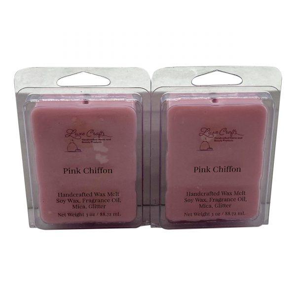 Pink Chiffon Wax Melts