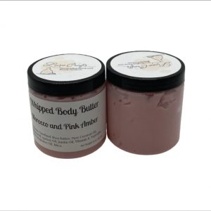 Morocco Orchid and Pink Amber Whipped Body Butter