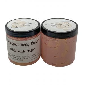 Wild Peach Poppies Whipped Body Butter