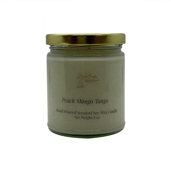 Peach Mango Tango Soy Wax Candle