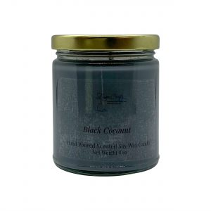 Black Coconut Soy Wax Candle
