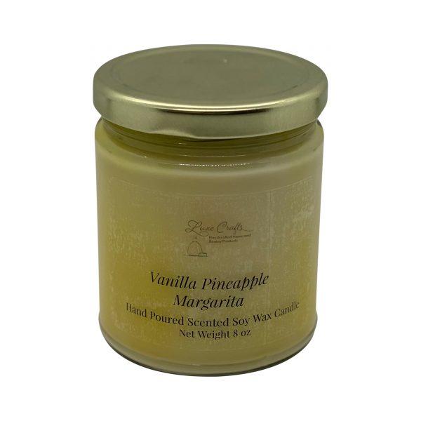 Vanilla Pineapple Margarita Soy Wax Candle