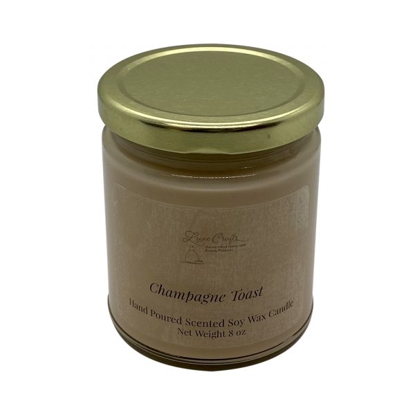 Champagne Toast Soy Wax Candle