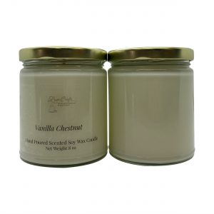 Vanilla Chestnut Soy Wax Candle
