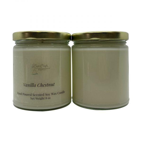Vanilla Chestnut Soy Wax Candle