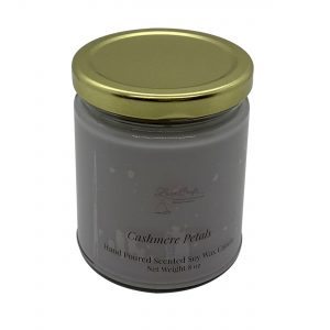 Cashmere Petals Soy Wax Candle