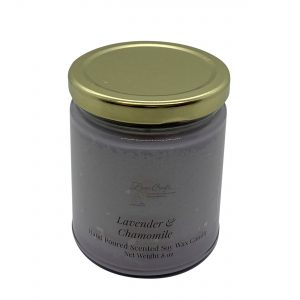 Lavender and Chamomile Soy Wax Candle