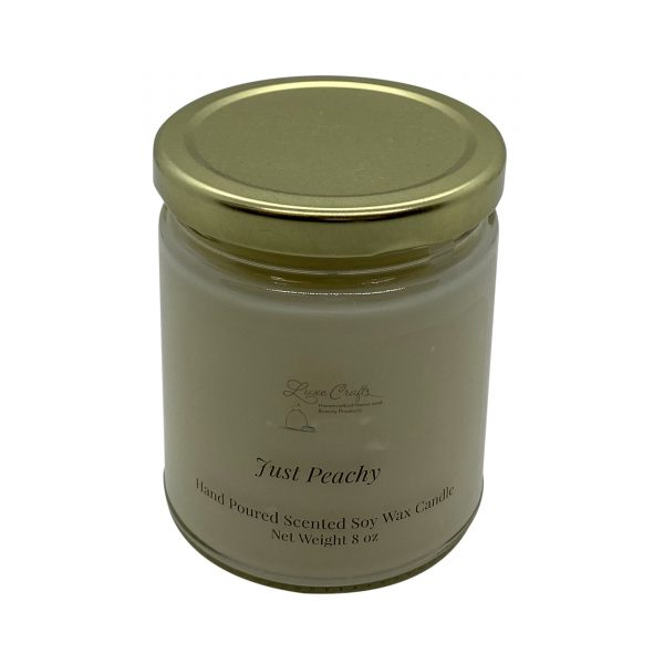 Just Peachy Soy Wax Candle