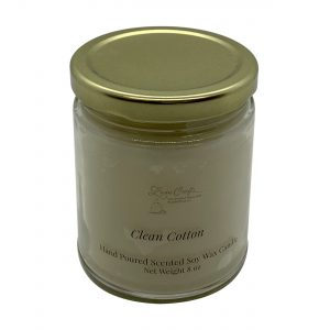 Clean Cotton Soy Wax Candle