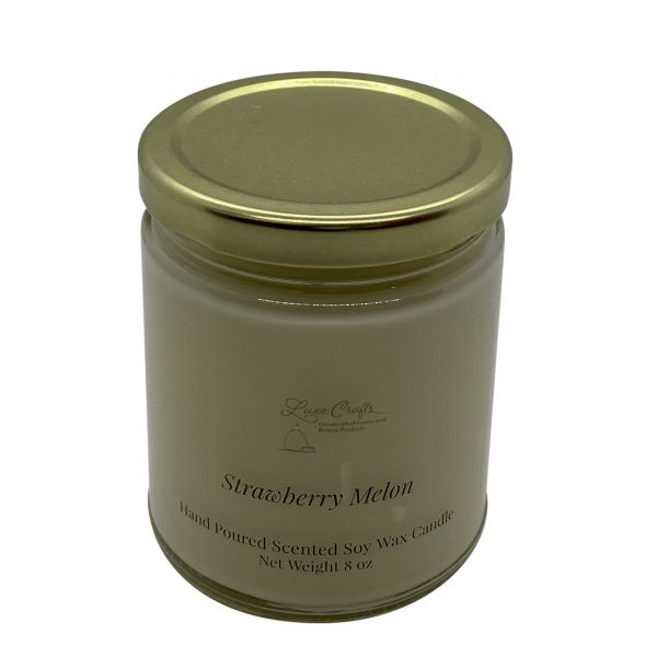 Strawberry Melon Soy Wax Candle