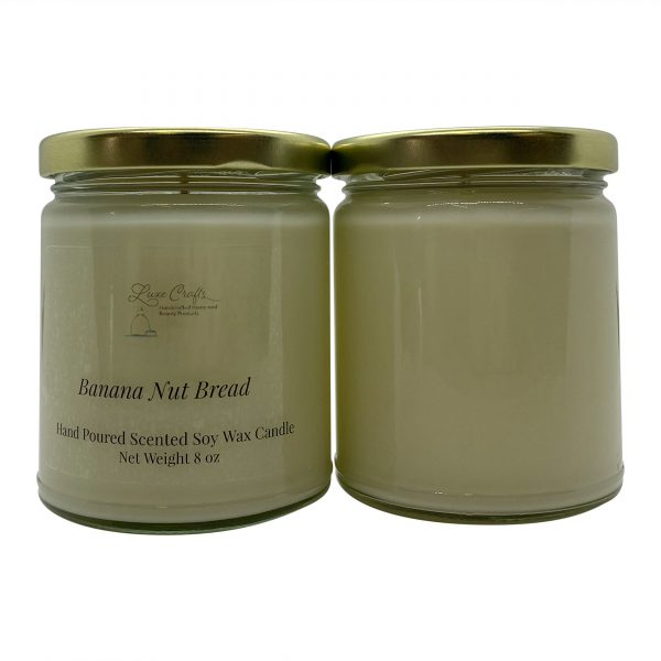 Banana Nut Bread Soy Wax Candle