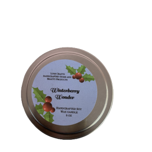 Winterberry Wonder Soy Wax Candle